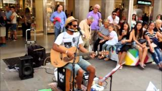 BLUE SUEDE SHOES - Edwin One Man Band - Folk N' Roll Tour 2014 - Milano