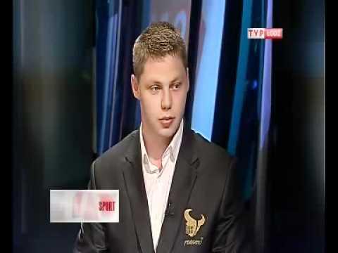 Wywiad w telewizji TVP INFO – Adrian Ignaczak – 28.04.2011 – www.rugby.zgierz.pl