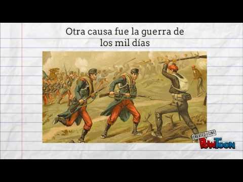 Separacion panamá de colombia