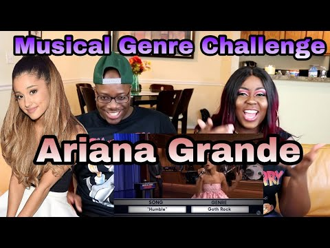 Musical Genre Challenge with Ariana Grande | Couple Reacts