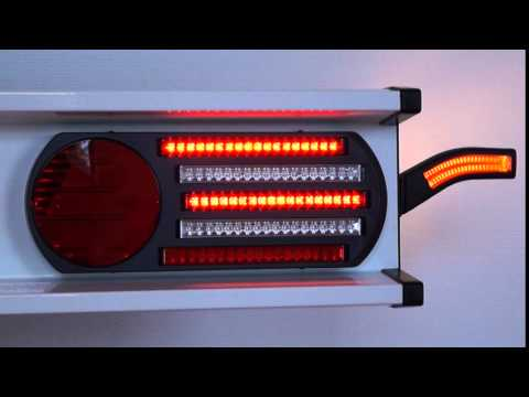 LED Sequentielle Blinkleuchte PRO-CAN XL - YouTube