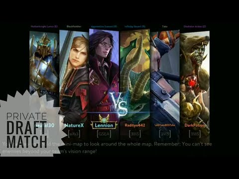 Vainglory Indonesia - Private Draft Match 3MS vs Rp & Crew