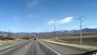 On the road: From Helena, MT to Bozeman, MT via back roads.