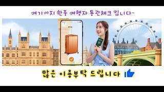 해외여행 통관체크, 세관, 관세계산, 면세, 한국, 중…