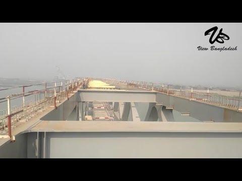 পদ্মা সেতুর উপরের অংশ যে দিক দিয়ে গাড়ি চলবে - ২০১৯-padma Bridge