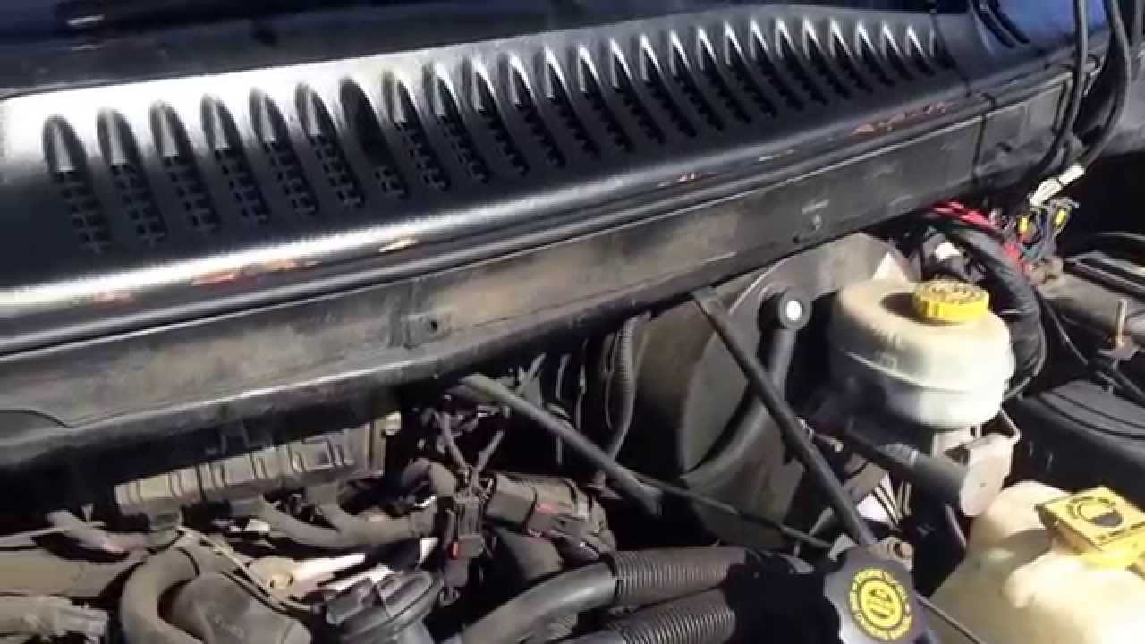 Blower Motor Resistor Location on 2003 Dodge Ram Van  YouTube