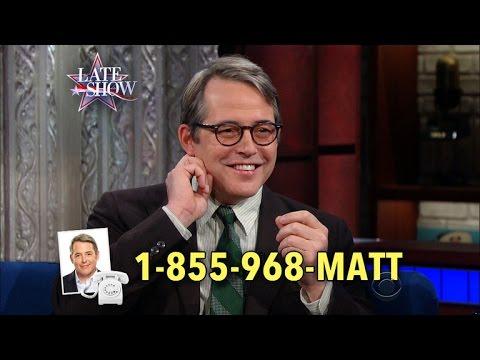 Call 1855968MATT If You Have A Job For Matthew Broderick