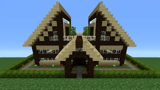 Minecraft Tutorial: How To Make A Wooden House - 11