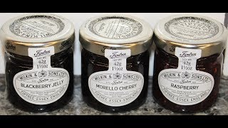 Wilkin & Sons Limited: Blackberry Jelly, Morello Cherry Preserve & Raspberry Preserve Review