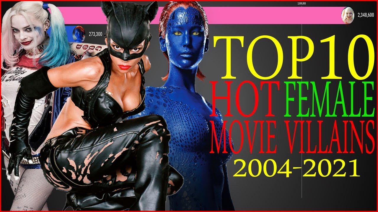 Top 10 Hot Female Movie Villains 2004–2021