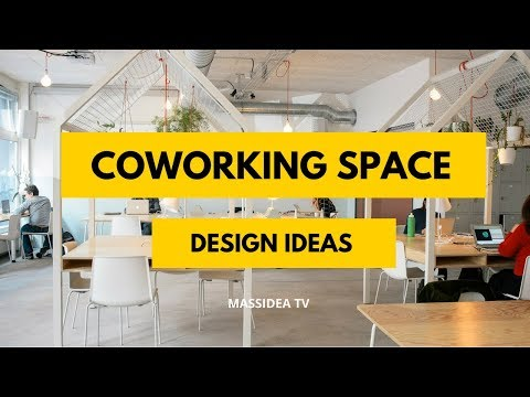 50+ Creative Coworking Space Design Ideas