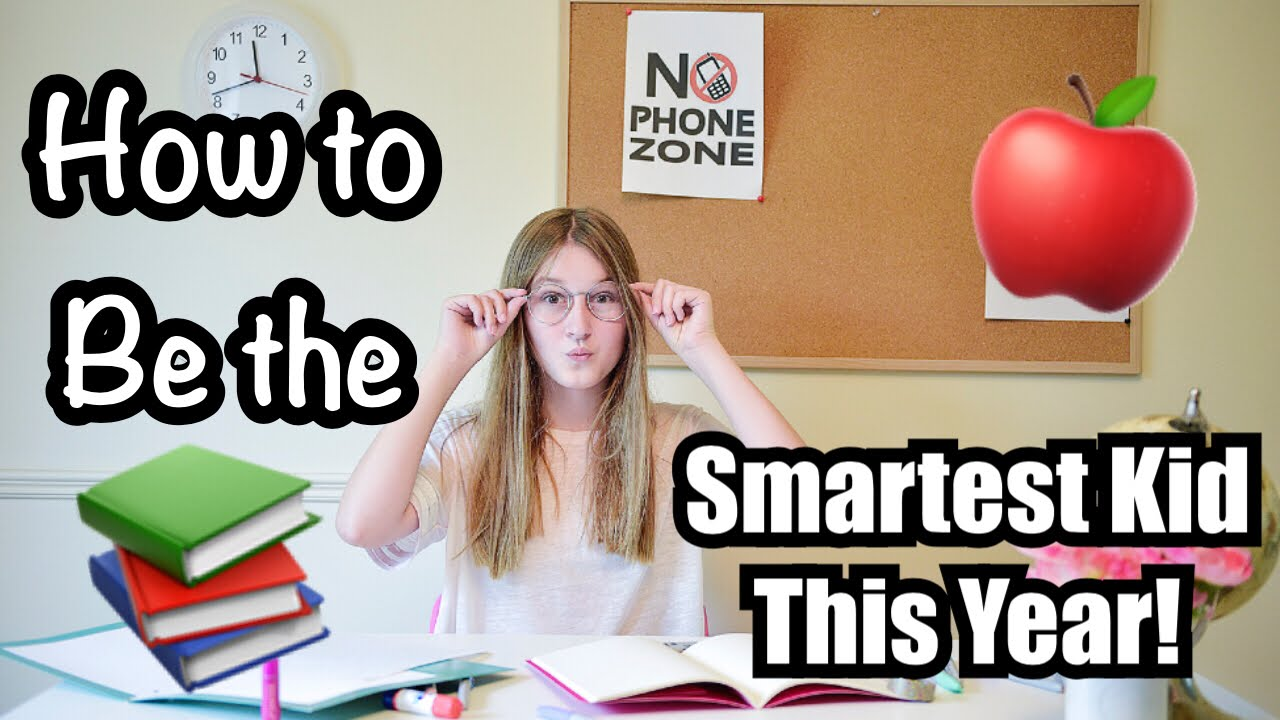How to be the Smartest Kid in your class this year! +HUGE GIVEAWAY!