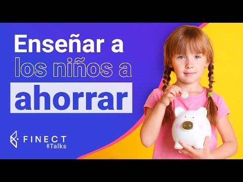 ¿Cómo enseñar a ahorrar a los niños? 2x34 Finect Talks con Raitit Finanzas
