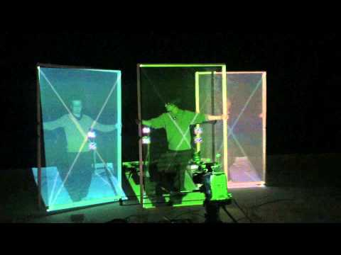 A Realtime Automatic Projector Calibration - YouTube