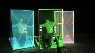 A Realtime Automatic Projector Calibration