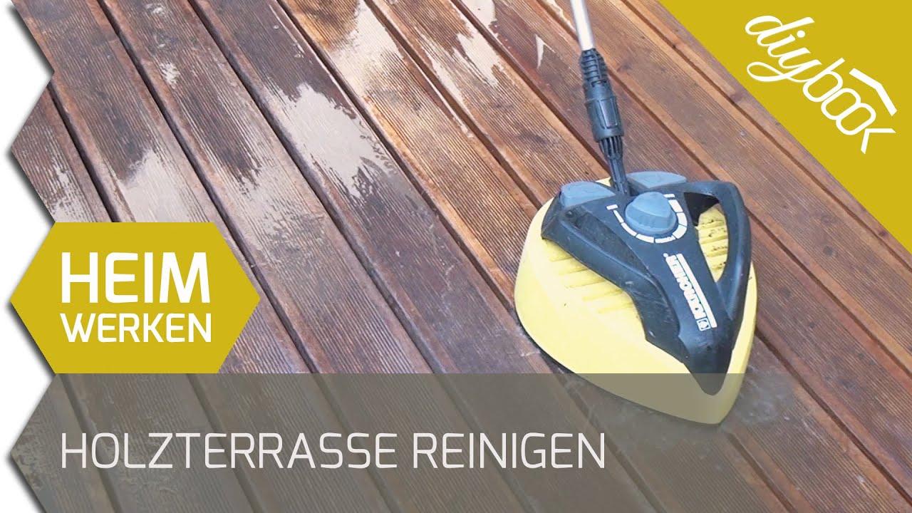 Holzfußboden Reinigen ~ Holzterasse reinigen und entgrauen youtube