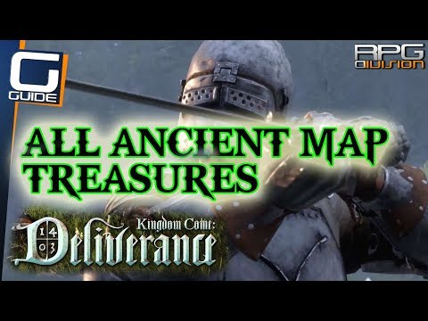 KINGDOM COME DELIVERANCE - All Ancient Map Treasure Locations Preorder DLC