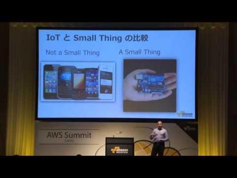 [English] 米国における IoT / Big Data & Analytics 活用事例の最前線 (AWS Summit Tokyo 2015 | TE-07)