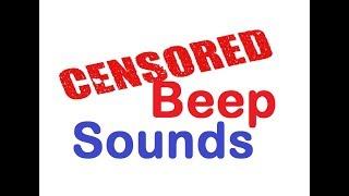 Download lagu Censor Beep bleep Sound Effects All Sounds MP3