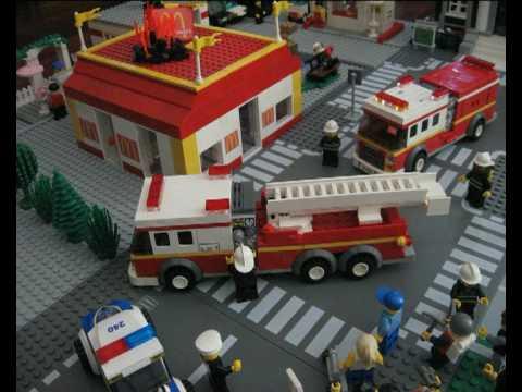 Lego City Fire Company Youtube