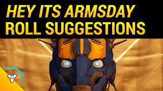 Destiny Rise of Iron: Armsday Roll Recommendations (Dec 7)