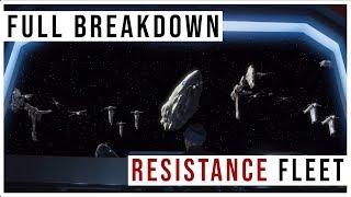 New Resistance Fleet after