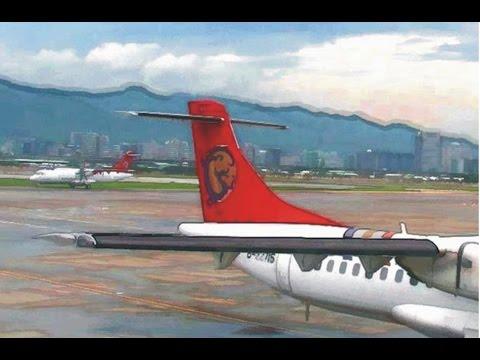ATR 72-200 Ferry flight from Taipei to Paris