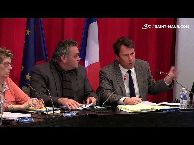 Vidéo Conseil Municipal du 5 avril 2018