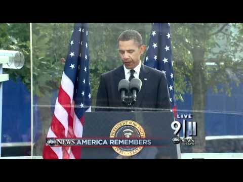 President Obama Reads Psalm 46 at 9/11 Ceremony
