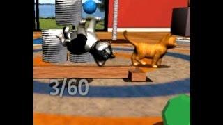 Котики - Виртуальные питомцы (2 серия). Делаем Сальто, Покупаем братика. Мультик-игра для детей.