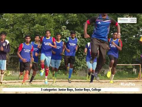 Reliance Youth Sports DEAF AND BLIND SCHOOL FOOTBALL