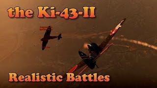 WT - RB, an hour in the Ki-43-II