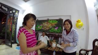 Vacation in Vietnam Saigon - Tet - New Year - Chinese New Year Travel Asia Family