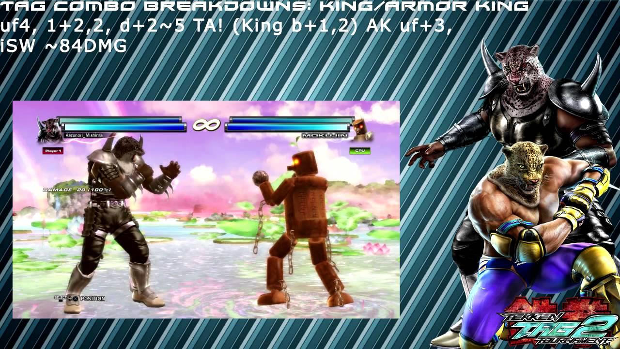 Hurtboxtv S Tekken Tag Tournament 2 Tag Combo Breakdowns King