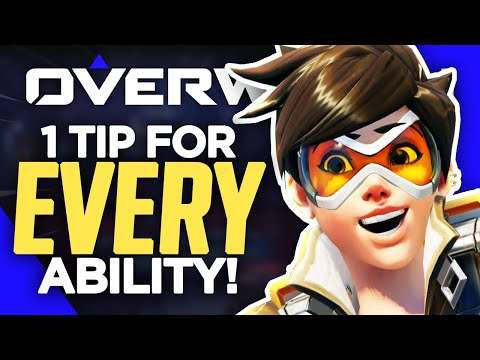 1 ADVANCED Tip For EVERY Hero Ability In Overwatch!