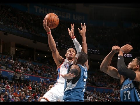 Westbrook Drops 28 on the Timberwolves