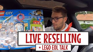 LIVE RESELLING + INVESTMENT TALK LEGO & TCG
