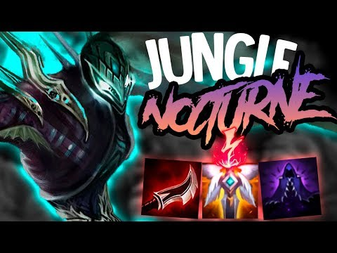 ADC's HATE THIS NOCTURNE BUILD!! - Lethality Nocturne Jungle - League of Legends thumbnail