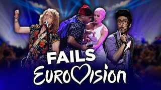 Eurovision: All Eurovision Fails | Best Moments