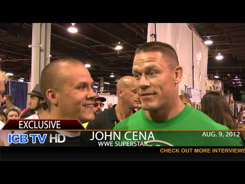 Illinois Center for Broadcasting Exclusive with John Cena at Comic Con