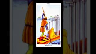 Six of Swords Symbolism and Meaning - Tarot Tuesday