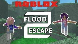 Roblox: Flood Escape 2 / Avoid Lava, Acid, and Floods! / 20 Levels!