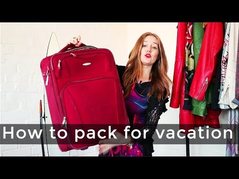 How to pack for a vacation for women over 40 - over 40 style