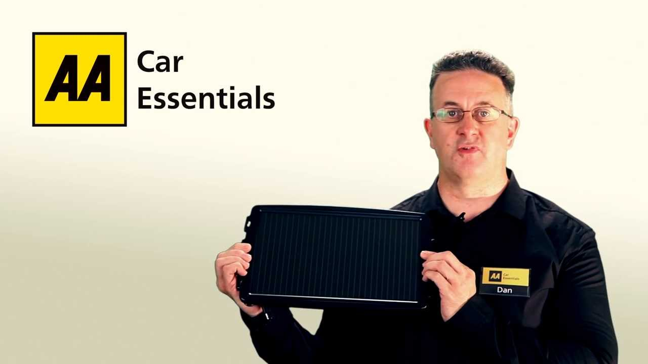 Aa Solar Car Battery Charger Youtube