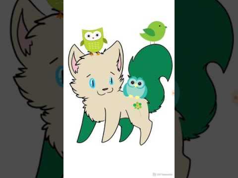 Кот персонаж по имени Лесной Орех (Борик)