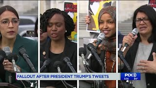 NY GOP lawmakers respond to Trump`s racist tweets targeting 4 Democratic congresswomen
