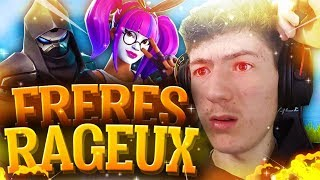 I contacted the 2 BROTHERS RAGEUX on Fortnite, here's what happened... (very funny)