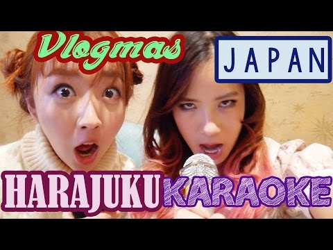 Karaoke in Harajuku & Japanese Supermarket Haul | Vlogmas #18 | KimDao in JAPAN ft. Sunndahye