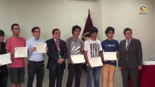 Tema: FISI Inaugura Periodo Académico 2016 I