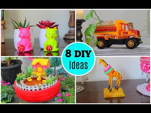 8 Great Ideas to use Old Toys for Home Decor